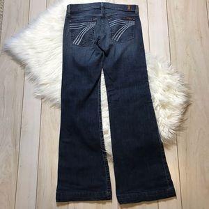 7 For All Mankind Dojo Flare Leg Jeans 7FAM